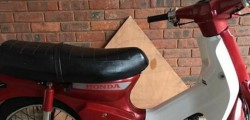 Humberside Police are appealing for information about the whereabouts of a red Honda Scooter stolen from an address in Beverley.