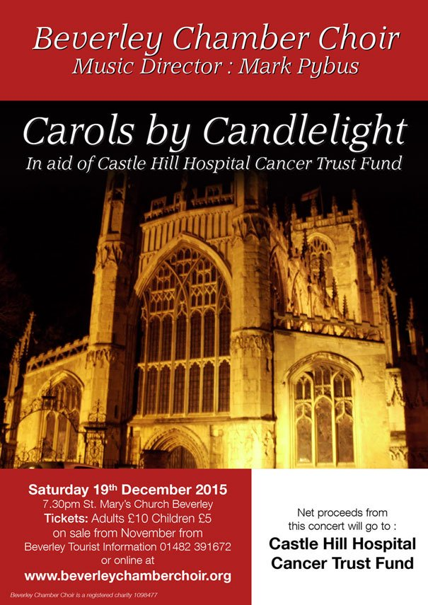 Candlelit Christmas Concert In Aid Of Cancer Charity