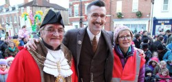Photos from the Beverley Christmas Lights Switch On. This year it was local TV celebrity Ben Shires who was given the honour of switching on the Christmas Lights in Beverley.