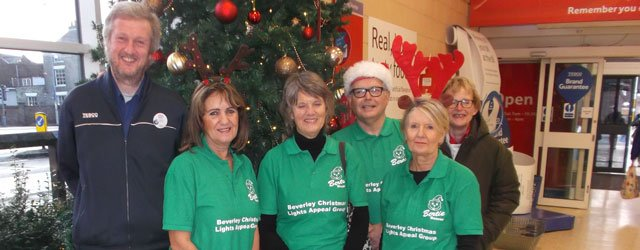 Beverley Christmas Lights Raise £170 By Packing Bags