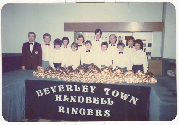 Handbell Ringers Chime In With Notes From The Past