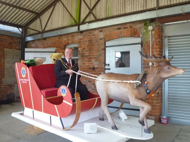Lions sleigh Set To Bring Christmas Cheer To Beverley