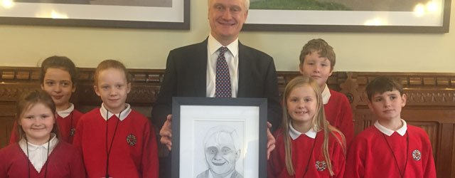 Pupils From Swinemoor Primary School Visit Houses Of Parliament