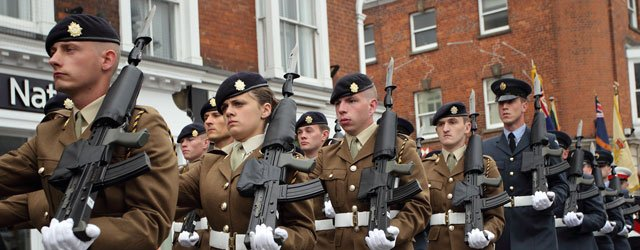 East Riding Armed Forces Community Covenant is Marching Ahead