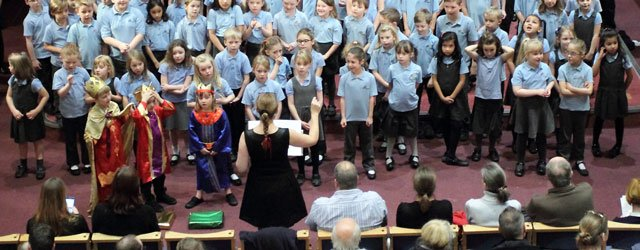 Keldmarsh Primary School's Christmas Concert