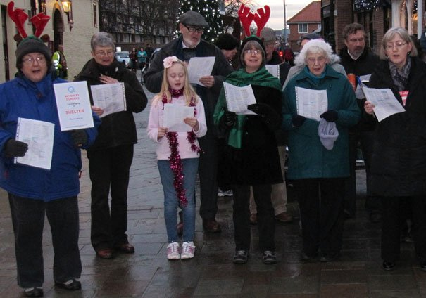 Beverley Quakers Carol Singers Raise Money For Charity