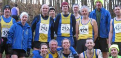 153 runners from across the East Riding, including 23 representing Beverley AC, slithered around the deep mud of the fifth and penultimate event of the 2015/2016 East Yorkshire Cross Country League