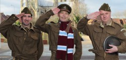 Dad's Army, the movie goes on general release as of today, Friday 5 February and given that some of the film was shot in Beverley local businesses are preparing a special day at Flemingate.
