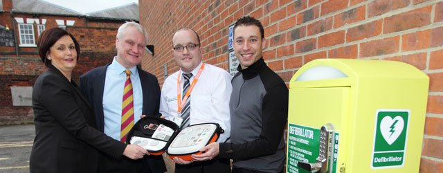 Defibrillator Installed at Beverley Leisure Complex