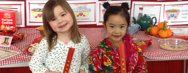 Cherry Burton Pre-School Celebrates Chinese New Year
