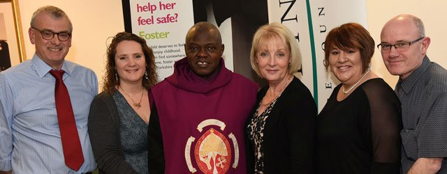 Archbishop Visits Foster Care Team