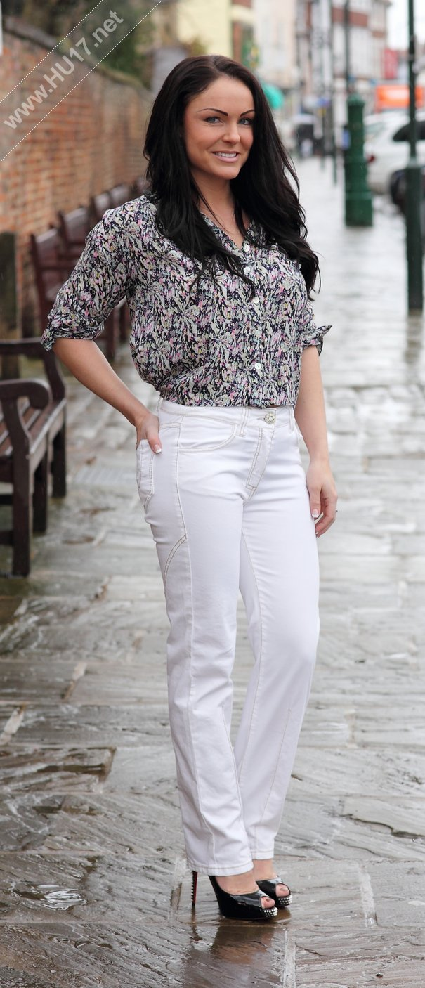 Pre-Loved White Trousers size 8 £25 Designer Top Size 8/10 £35.00