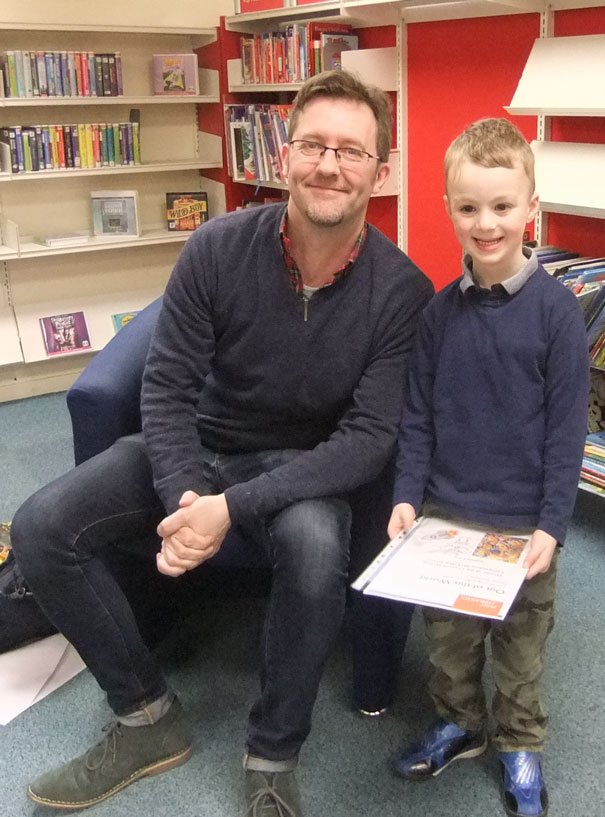 East Riding Libraries Shoot For The Stars With Award-Winning Author Simon Bartram