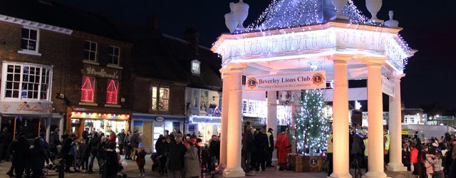 Beverley Town Council Pull Plug Christmas Lights