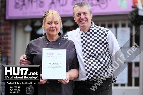 Beverley Sandwich Designer Reaches Semi-Final