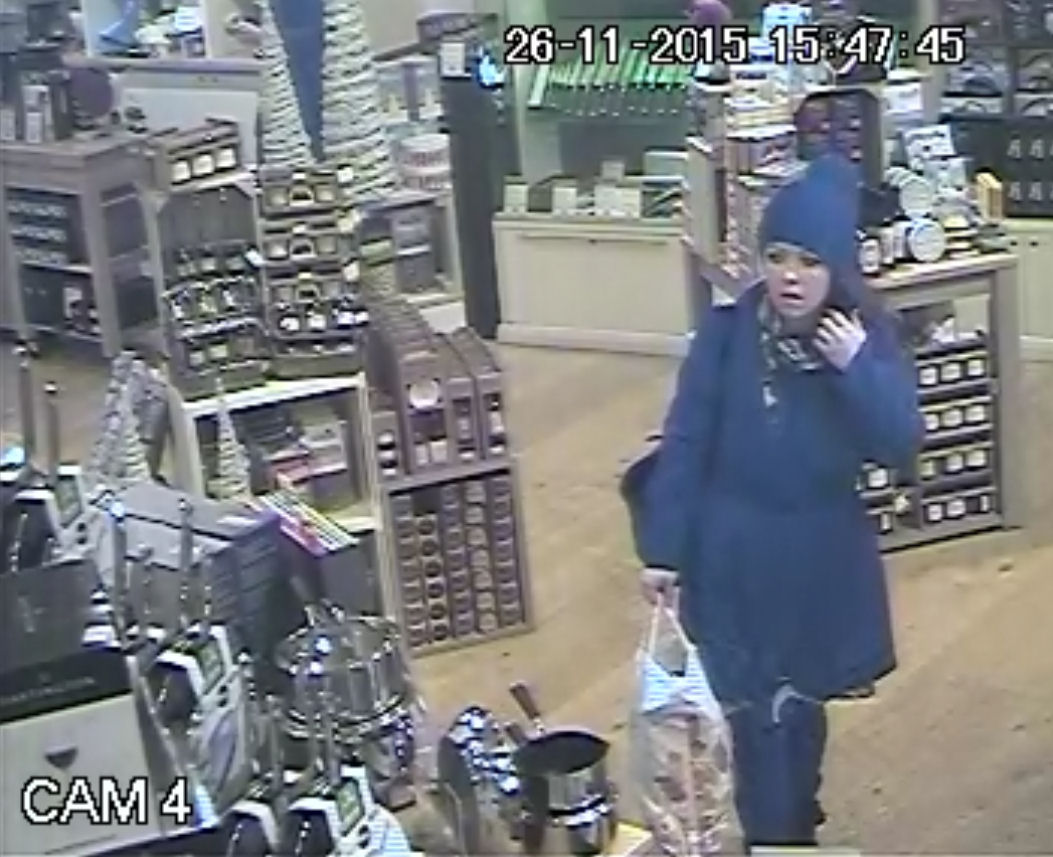 WANTED: SHOP THEFT