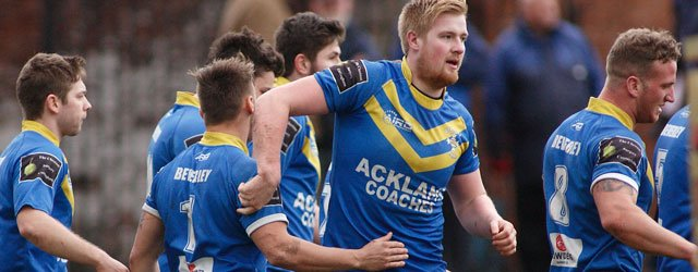 Blue & Golds Beat Illingworth To Reach Final