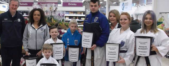 Hull & East Riding Karate Academy Thanks Tesco