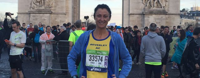 Beverley Runner in Top 500 at Paris Marathon