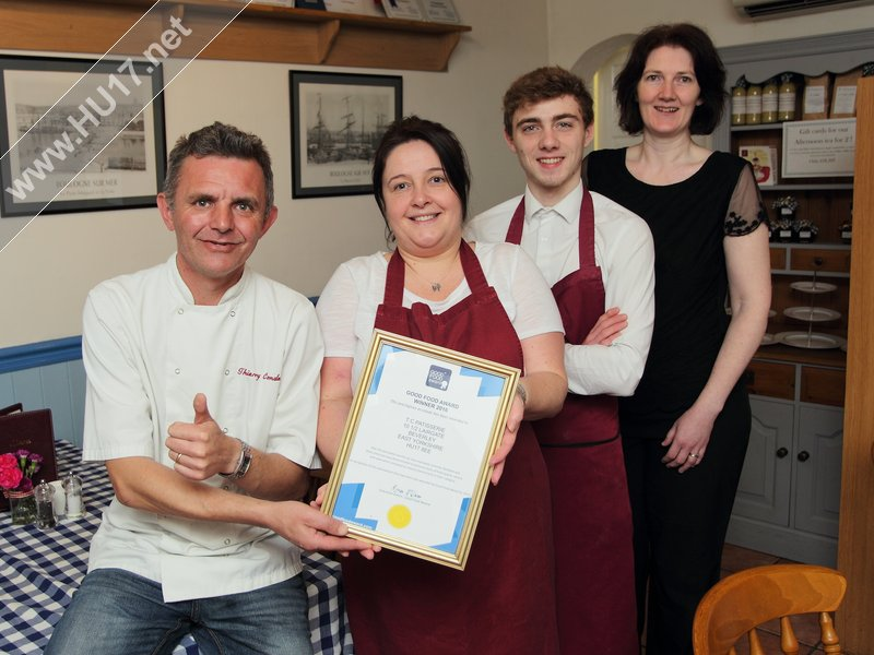 TC Patisserie in Beverley Win Good Food Award