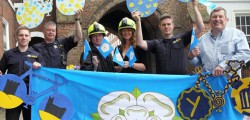 During the Tour de Yorkshire last year, Beverley made a great effort to decorate the town, turning it into a sea of blue and yellow in the days leading up to the race.