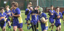Beverley Braves under 13s put Hull Dockers to the sword with a thrilling 12 try display at the Beverley Leisure Centre.