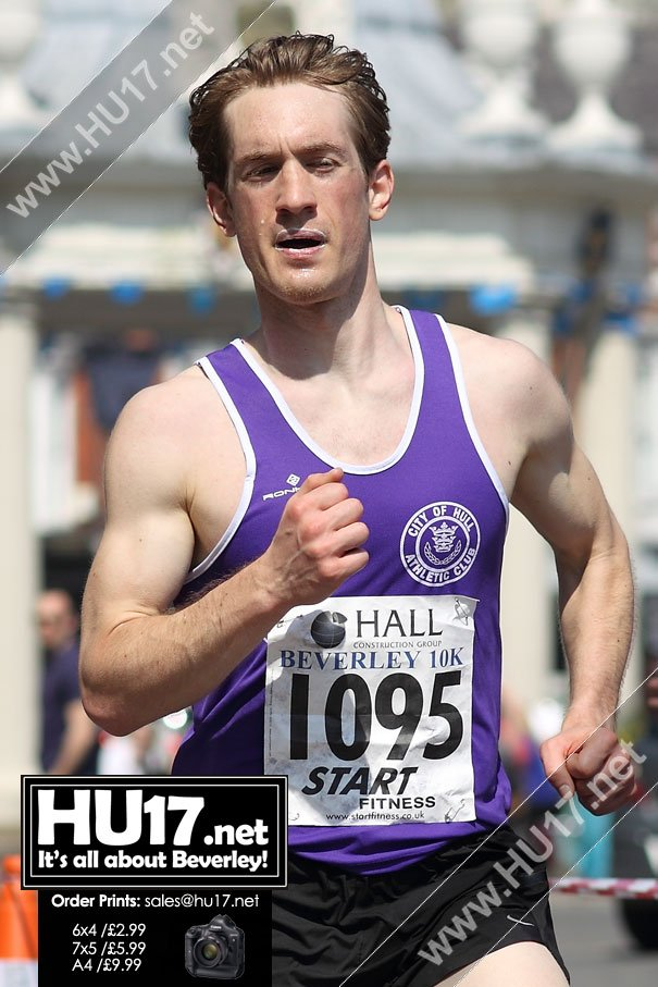 BEVERLEY 10k : Kris Lecher Wins Popular Beverley 10K