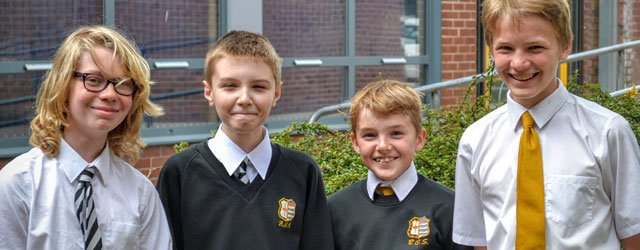 Beverley Grammar School Boys Finalists in UK Team Maths Challenge Trophy
