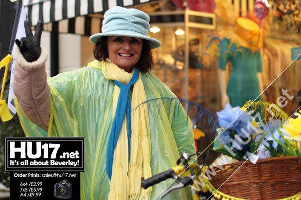 Mandy Buchanan Wins The Wacky Bike Race