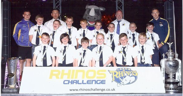 Beverley Braves Come 7th in Rhino's Challenge