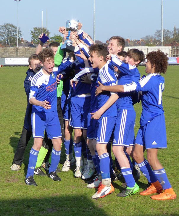 Magical Wizards Lift League Cup in Bridlington