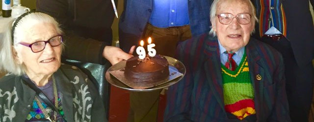 Paddy Sweeney Celebrates 95th Birthday