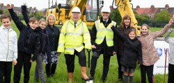 Work is getting underway on a £5million scheme to amalgamate a Beverley primary school's infant and junior schools into a brand new building on a single site.