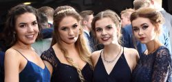 Photos from the KC Stadium where Beverley High School and Bevelrey Grammar School held their end of year school Prom.
