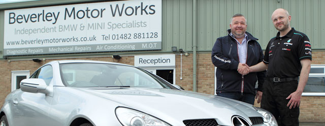 Beverley Motor Works Add Mercedes Expertise To Workshop