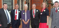 East Riding of Yorkshire Council's Labour Group today each wore a White Rose of Yorkshire in respect of their Yorkshire Lass Jo Cox MP.