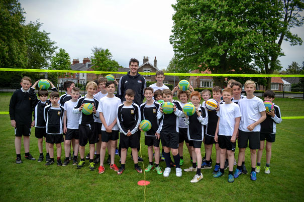 Olympian Inspires And Motivates Beverley Grammar School Boys