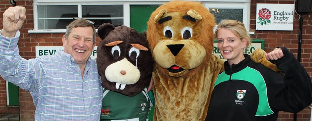 Westwood Lions Team Up With Beverley RUFC For Family Fun Day