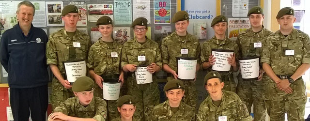 Army Cadets Raise Over £700 Packing Bags At Local Tesco Store