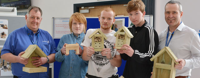 Recycled Bird Boxes Turn A Profit