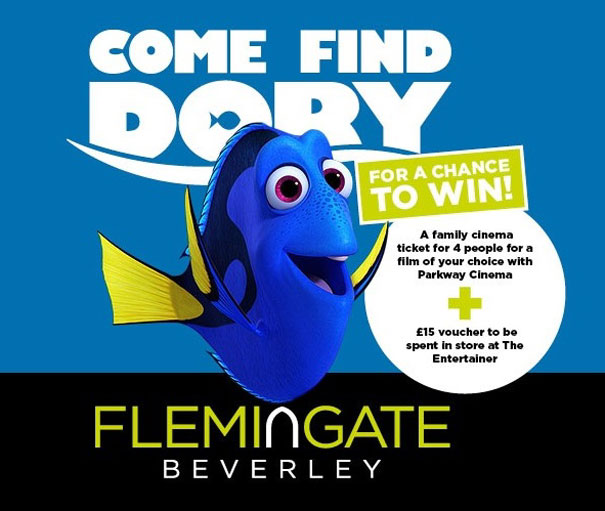 Finding Dory Fun At Flemingate