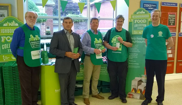 Tesco Customers Donate Over 190 Trays Of Food To Help Feed Local People