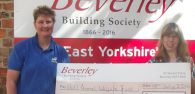 Hull Animal Welfare Trust has been voted Beverley Building Society's charity of the month for June by its members. The charity will receive £250 donation on behalf of the Society.