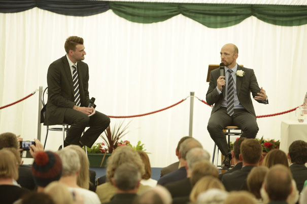 World Cup Winner Says Bishop Burton Students Have a Bright Future