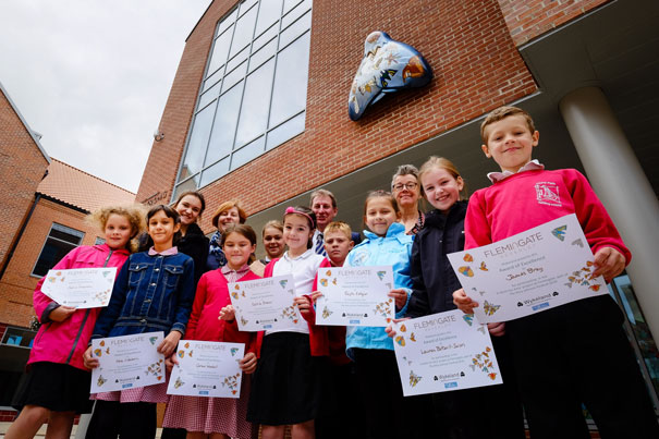 Schools' Creations Join Moth Trail At Bridgehead And Flemingate