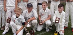 Beverley Town Cricket Club U11s beat Driffield by 57 runs at Sutton to secure their second trophy of what is becoming a very successful season.
