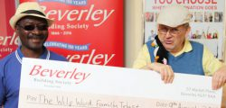 Wilf Ward Family Trust has been voted Beverley Building Society's charity of the month for July by its members. The charity will receive £250 donation on behalf of the Society.