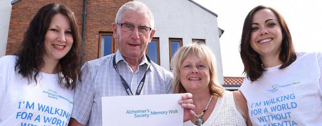 Beverley Care Home Staff Organise Memory Walk