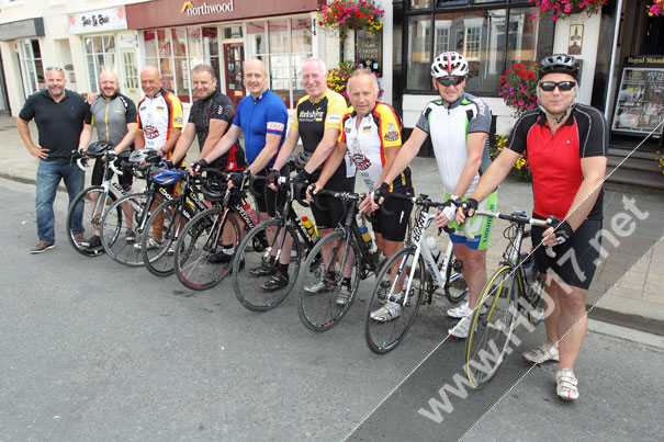 Beverley Cycling Group Put in The Miles To Raise Cash For Charity