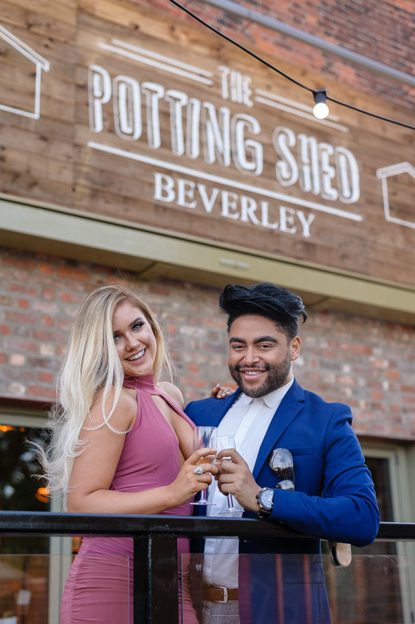 Beverley Now Has The X Factor After A Celebrity Launch Of New Gastro Pub The Potting Shed
